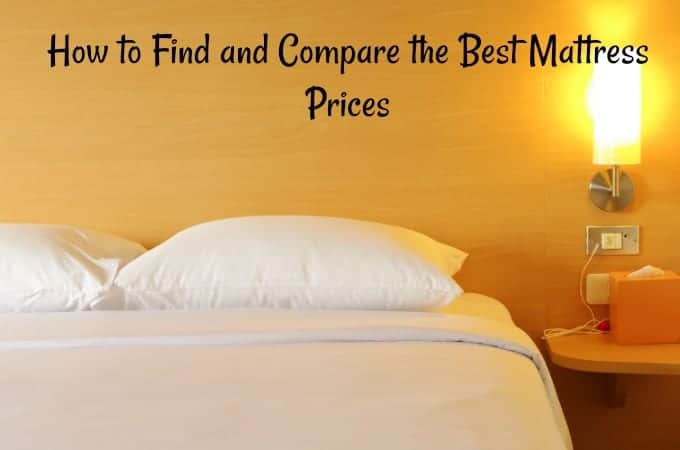 How to Find and Compare the Best Mattress Prices