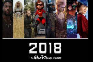 Walt Disney 2018 Line up