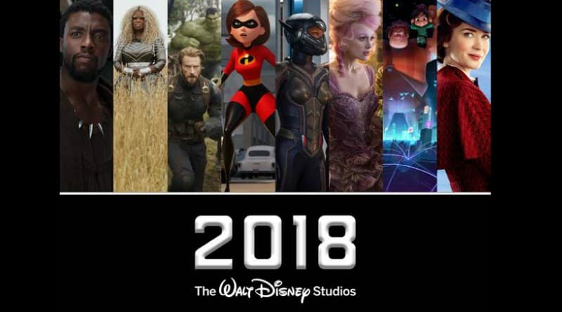 Walt Disney Line Up 2018