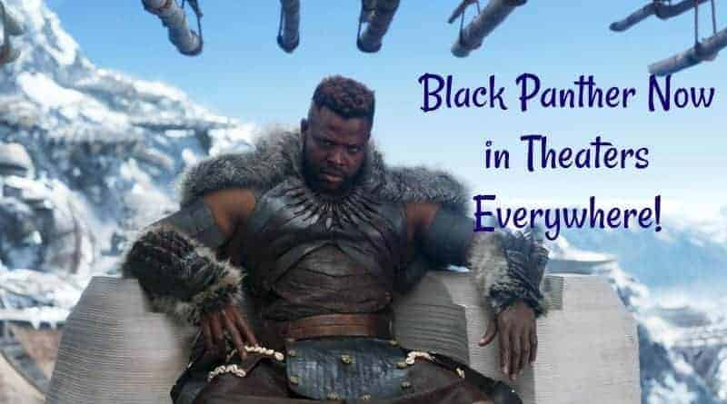 Black Panther Now in Theaters Everywhere!