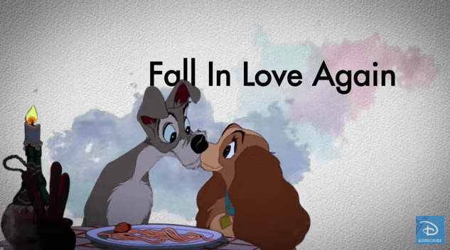 FAll in love again with Lady and the Tramp