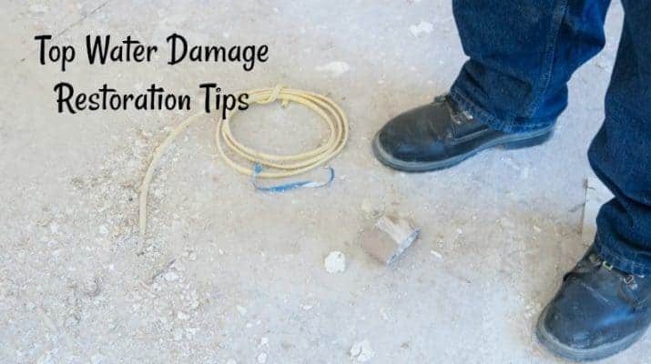 Top Water Damage Restoration Tips