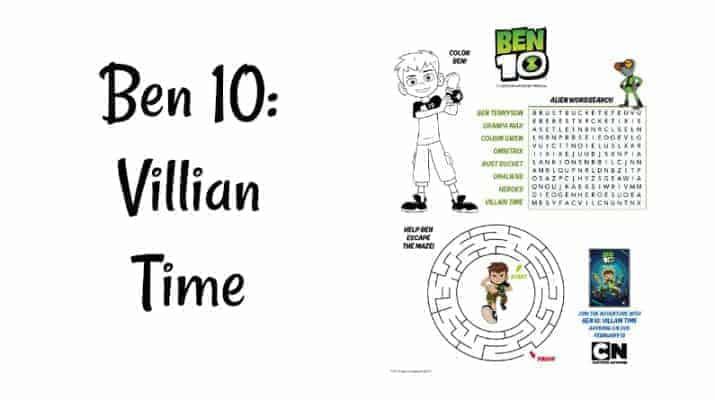 Ben 10: Villian Time