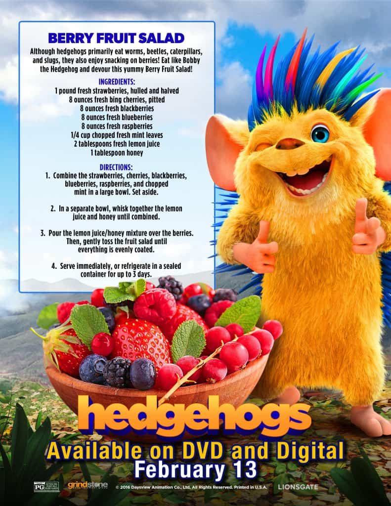 Hedgehogs coming to DVD Soon