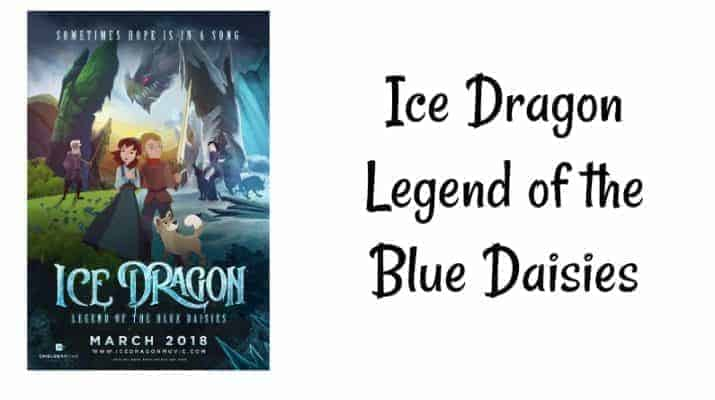 Ice Dragon Legend of the Blue Daisies
