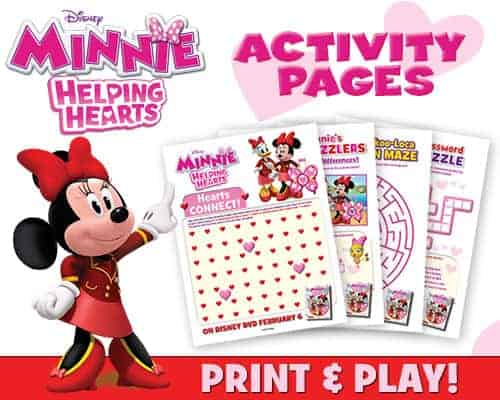 Activity Pages for Minnie's Happy