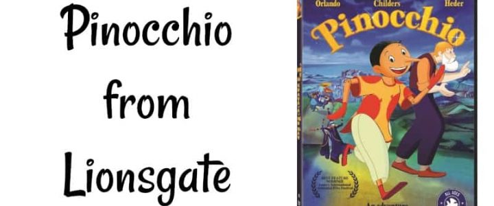 Pinocchio from Lionsgate