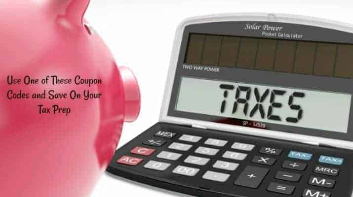 Use One of These Coupon Codes and Save On Your Tax Prep
