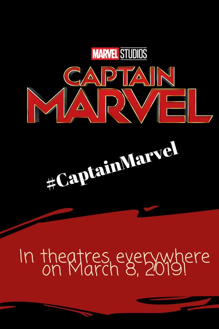 Captain Marvel coming on March 8, 2019