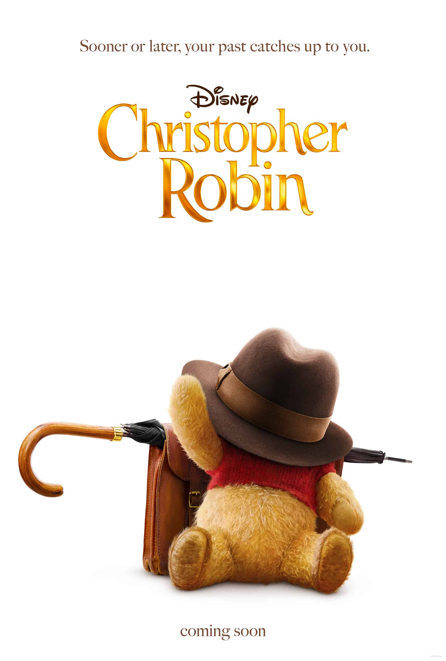Christopher Robin, Sooner or Later Your Past Catches Up to You