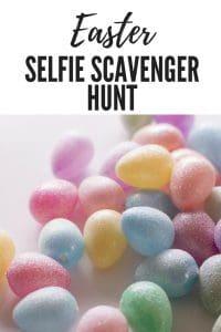 Easter Selfie Scavenger Hunt