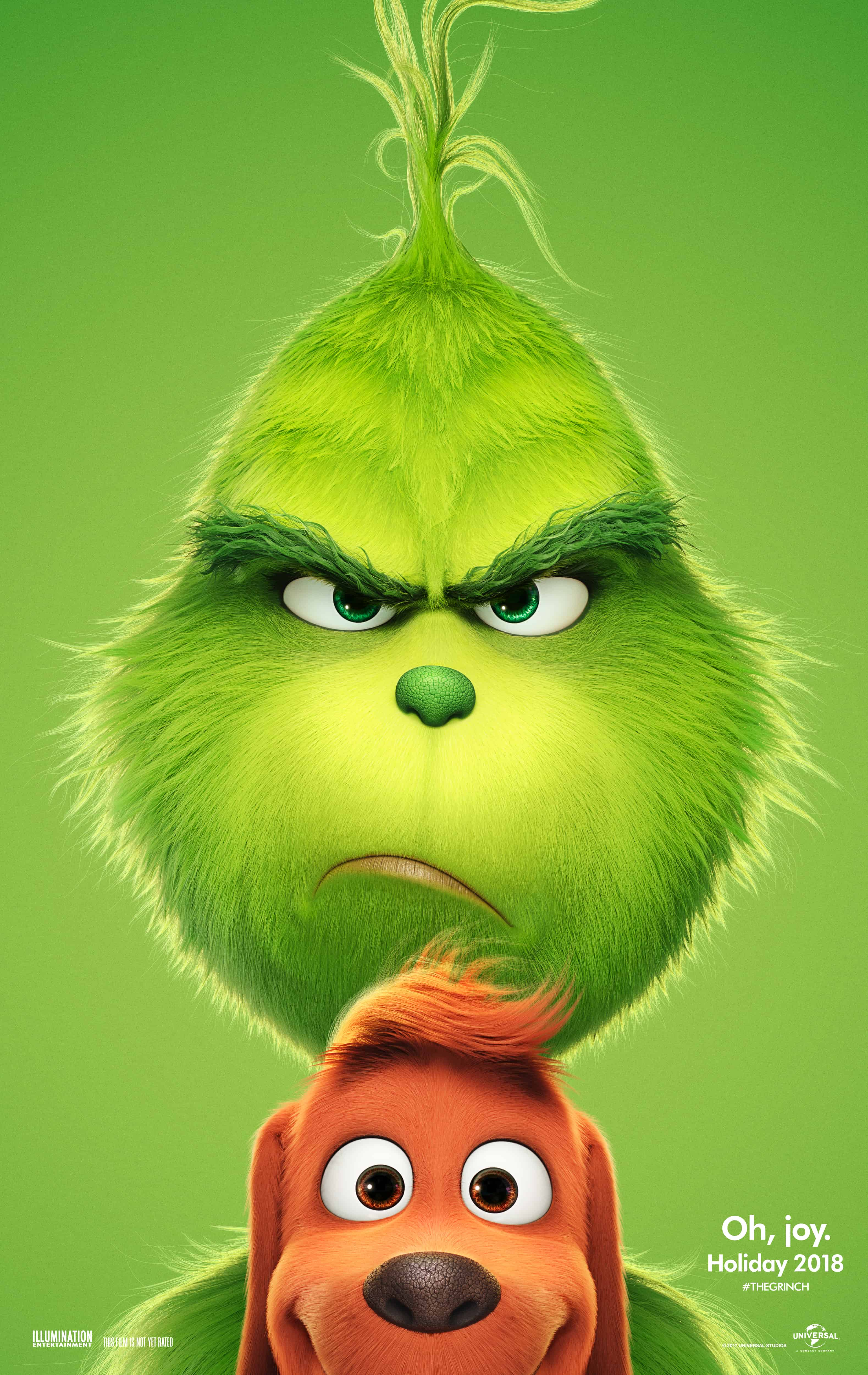 The Grinch In Theaters November 9th