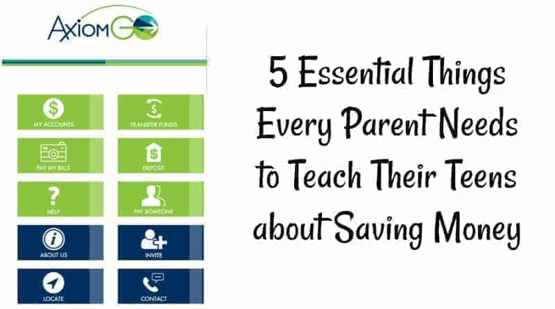Every Parent Needs to Teach Their Teens about Saving Money