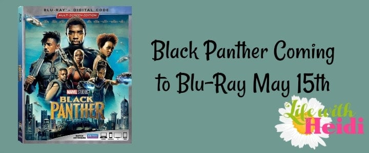Black Panther Coming to Blu-Ray May 15