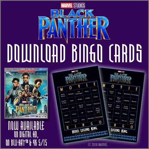Black Panther Bingo