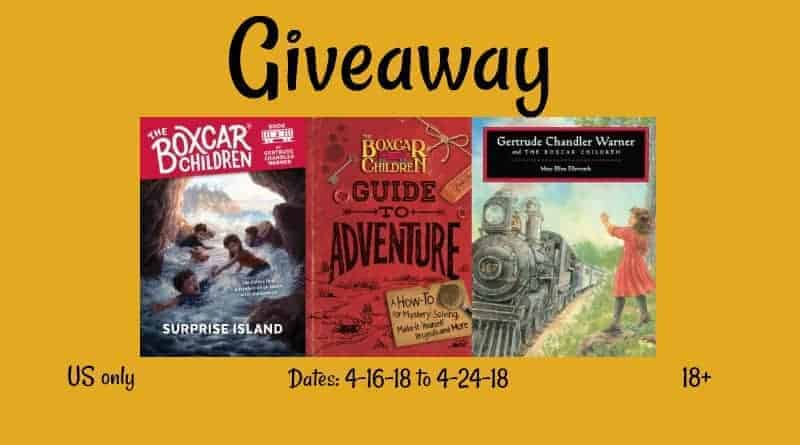 Boxcar Children Giveaway
