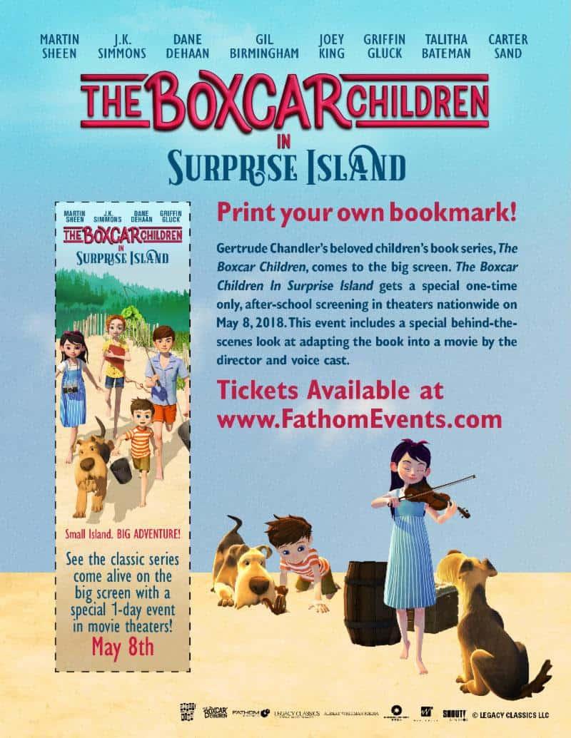 Surprise Island Bookmark