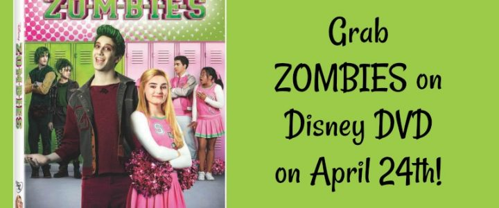 Zombies on DVD on April 24th
