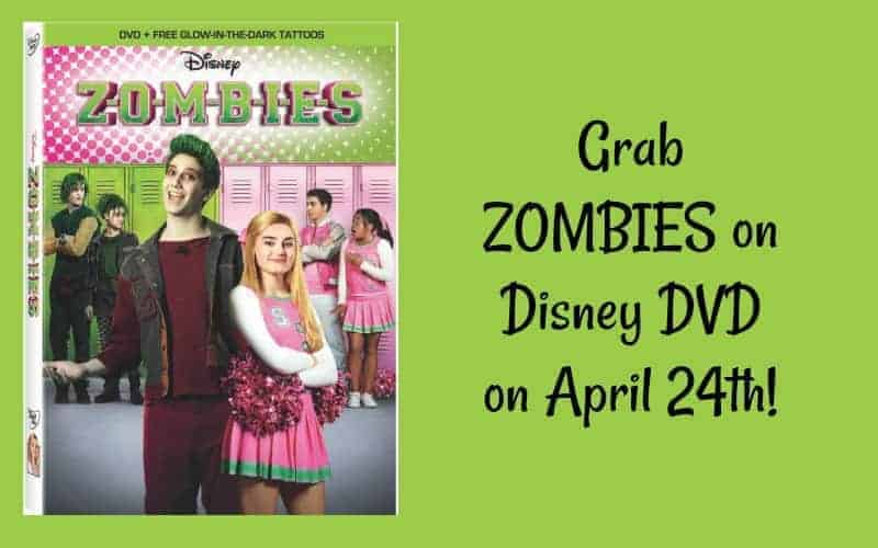 Zombies from Disney