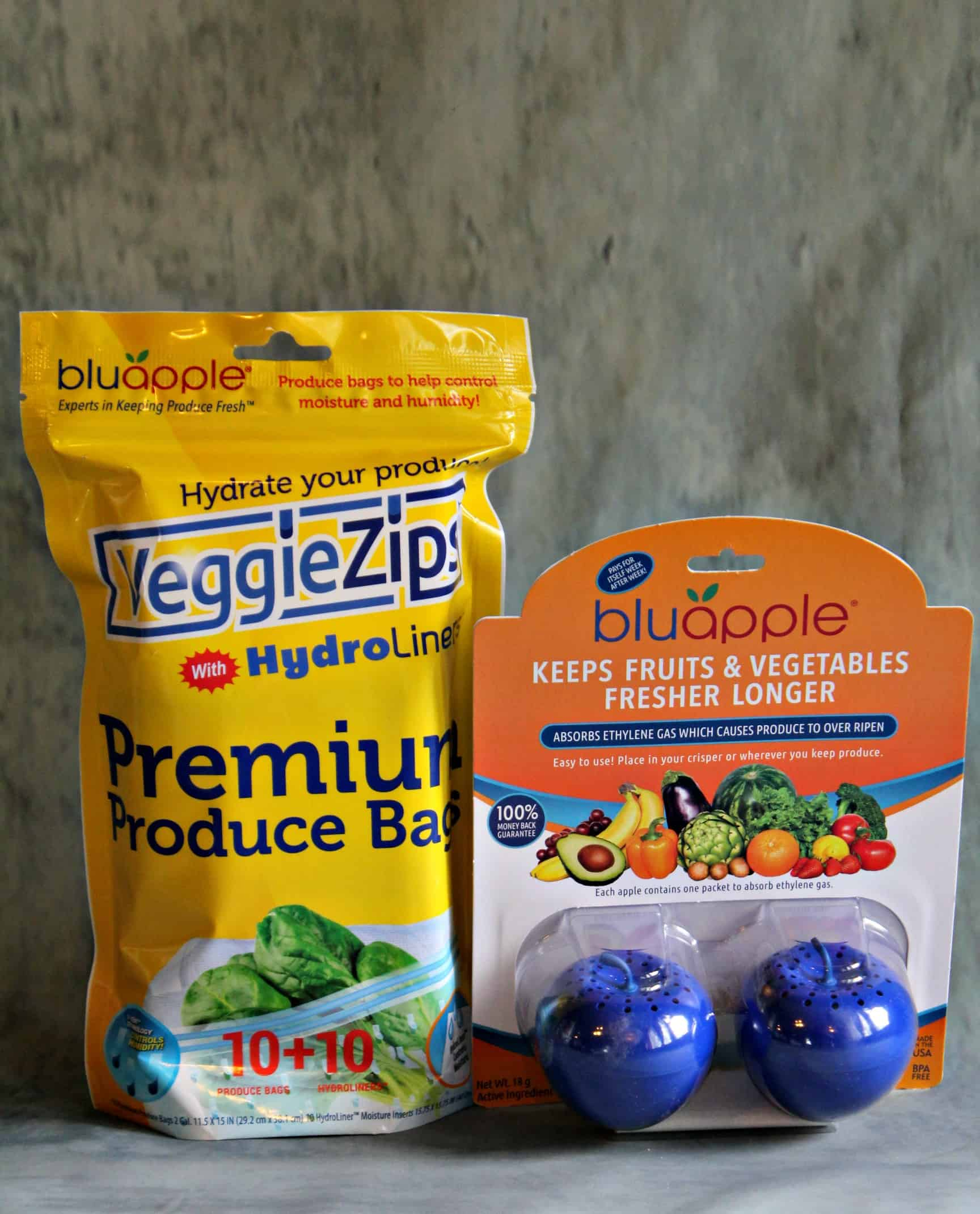 BluApple helps your produce stay fresher longer