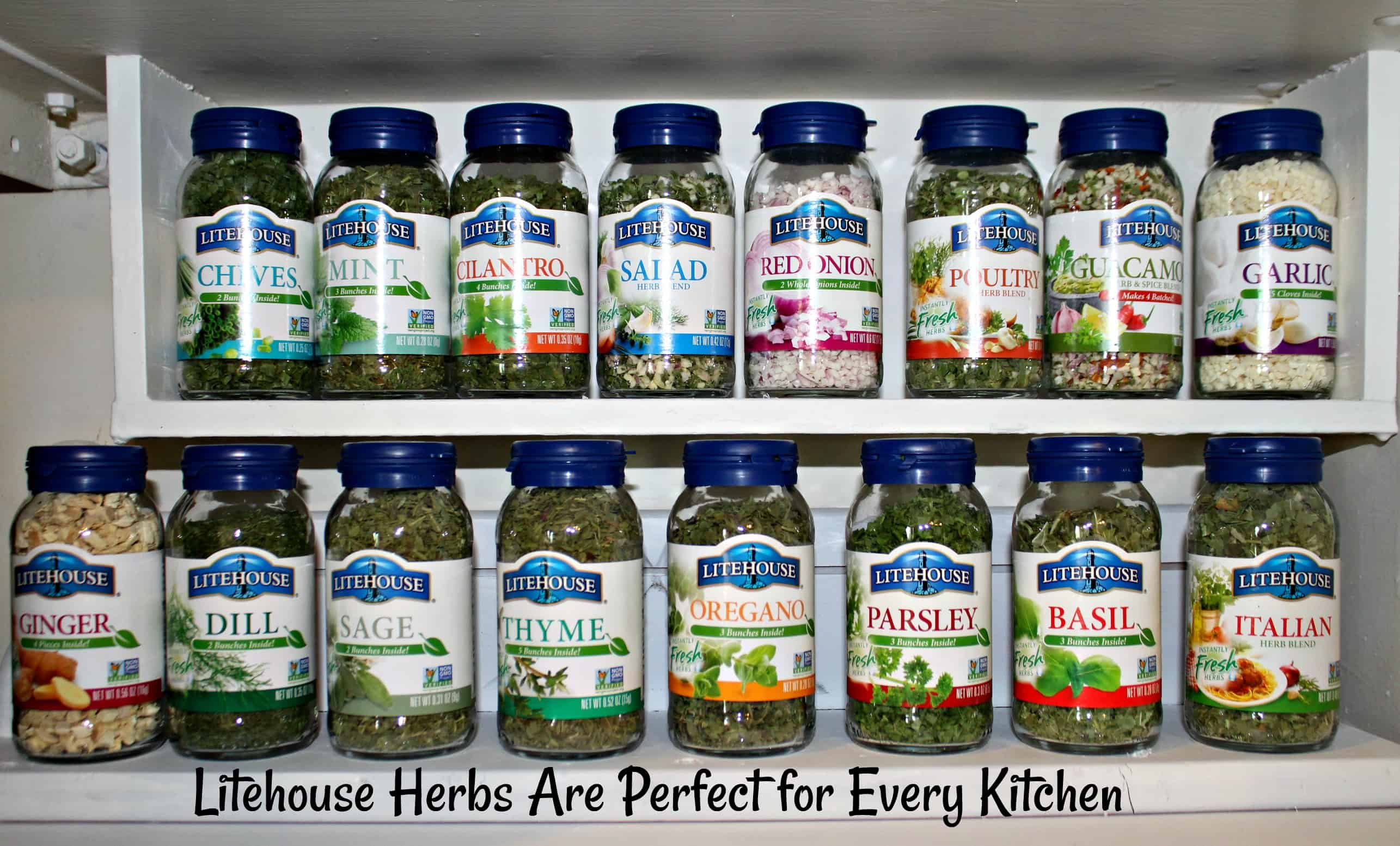 Litehouse Herbs are perfect for every kitchen