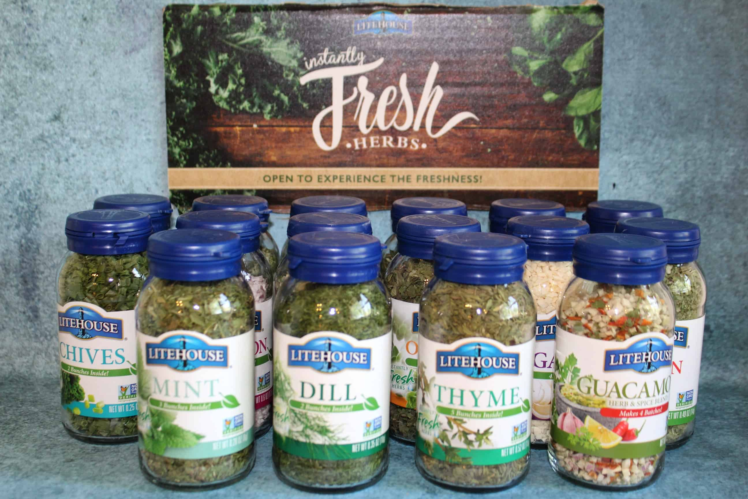 Litehouse Herbs are gluten free, have no preservatives and require no refrigeration