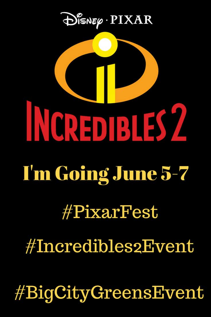 I'm Heading to LA to Cover The Incredibles 2 Event
