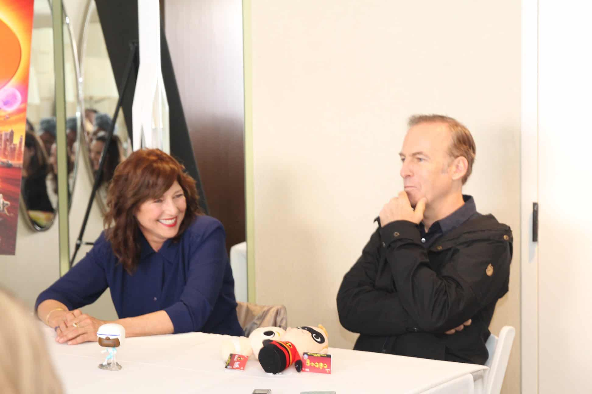Interviewing Bob Odenkirk and Catherine Keener