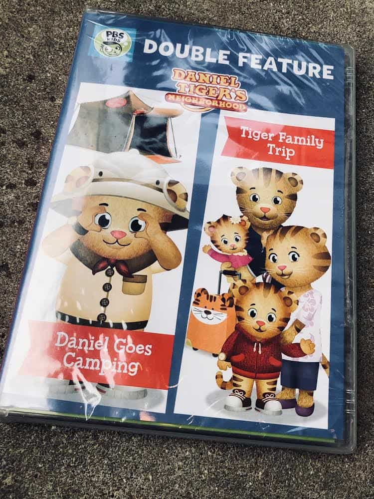 DANIEL TIGER DOUBLE FEATURE: DANIEL GOES CAMPING AND TIGER FAMILY TRIP