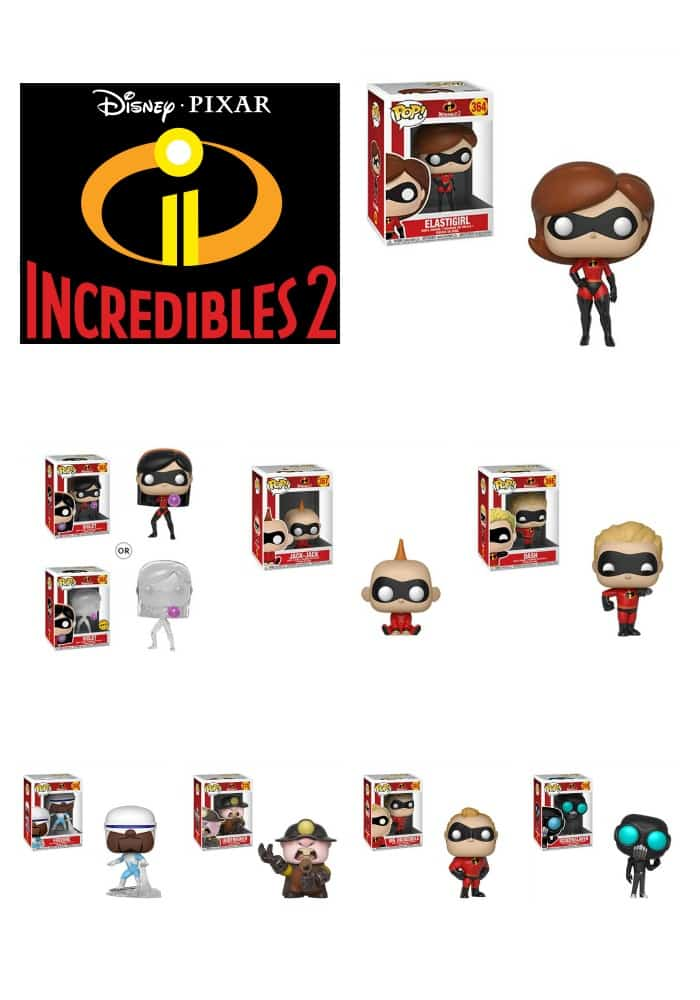 Funko Pops The Incredibles