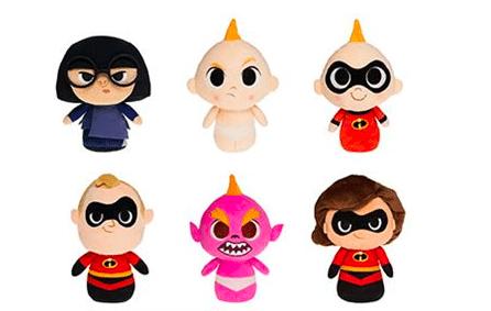 Incredibles 2 Funko Plush Characters