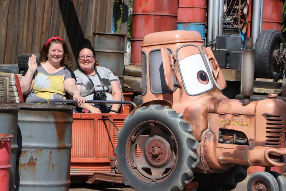 Mater Ride in Carsland