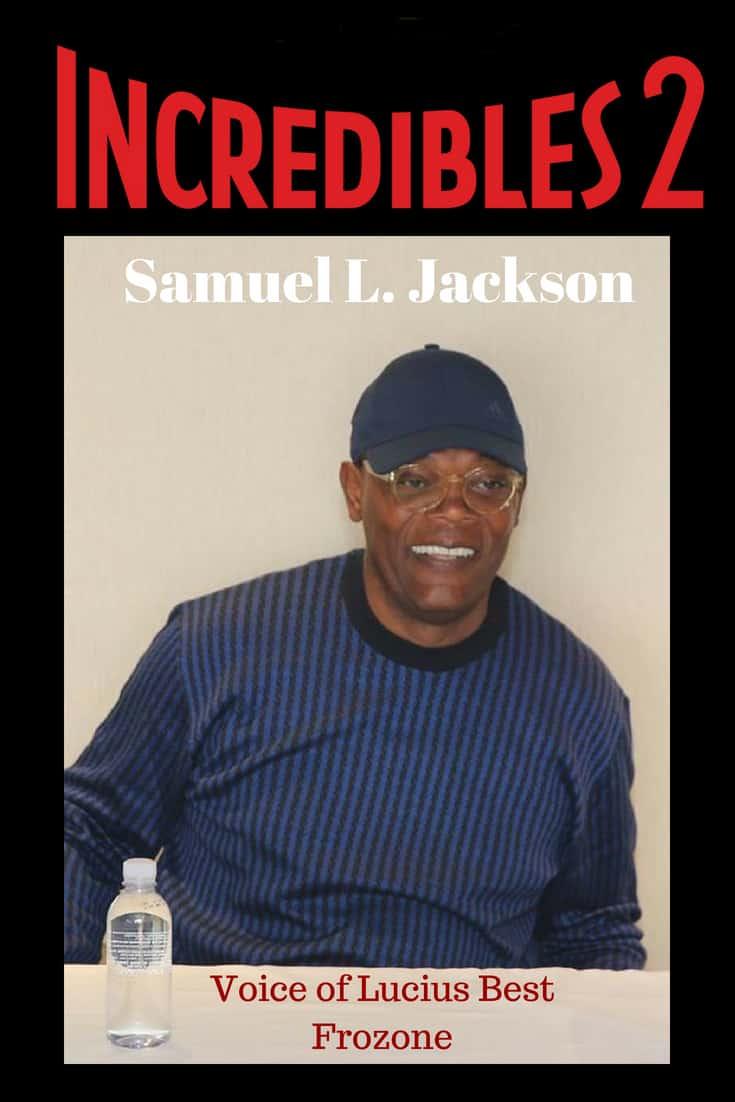 Samuel L. Jackson Voice of Lucius Best Frozone