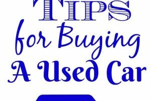 3 Tips for purchasing a used car