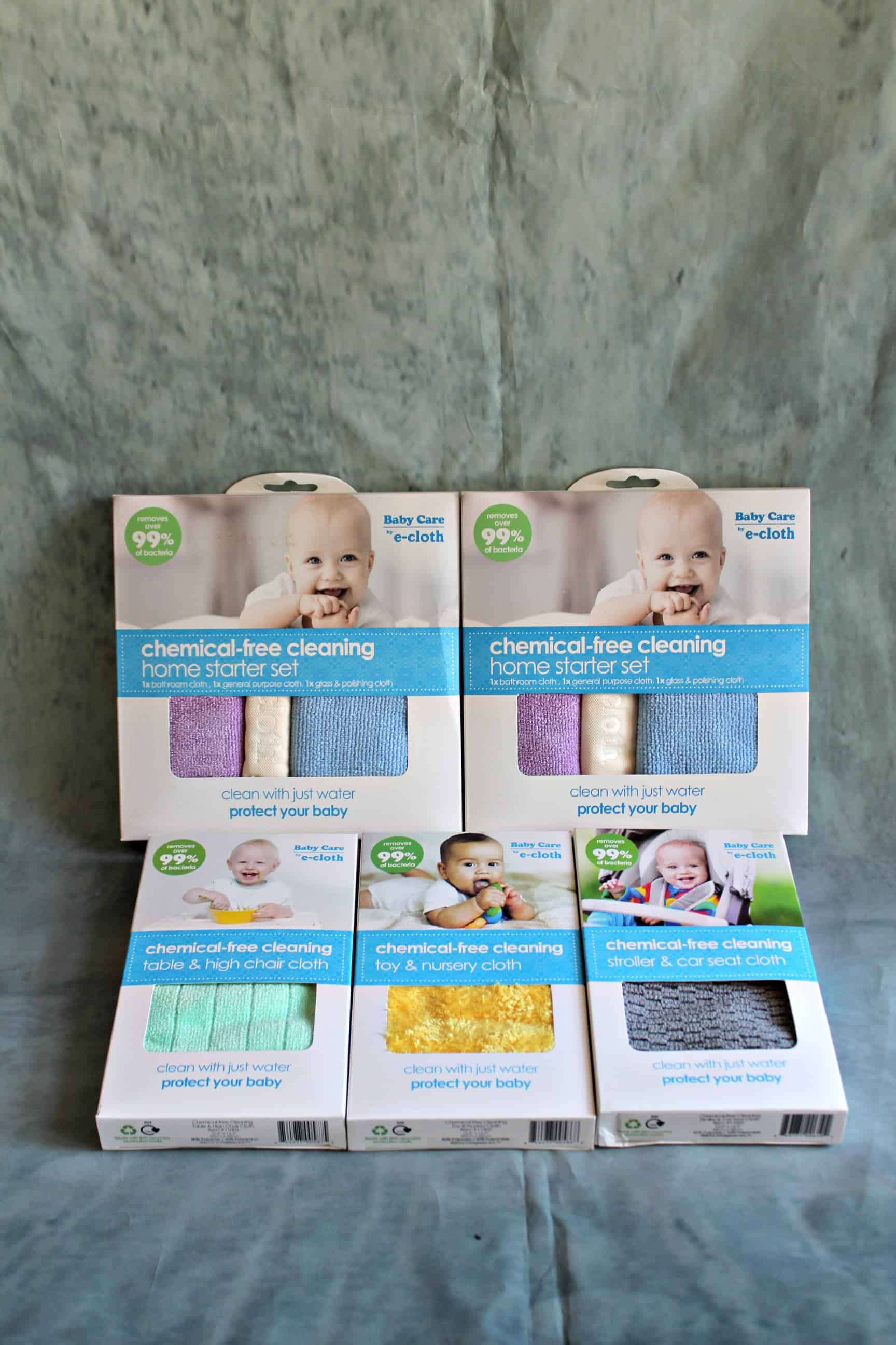 Smart Cleaning allows you to make your home safe and clean for the new baby