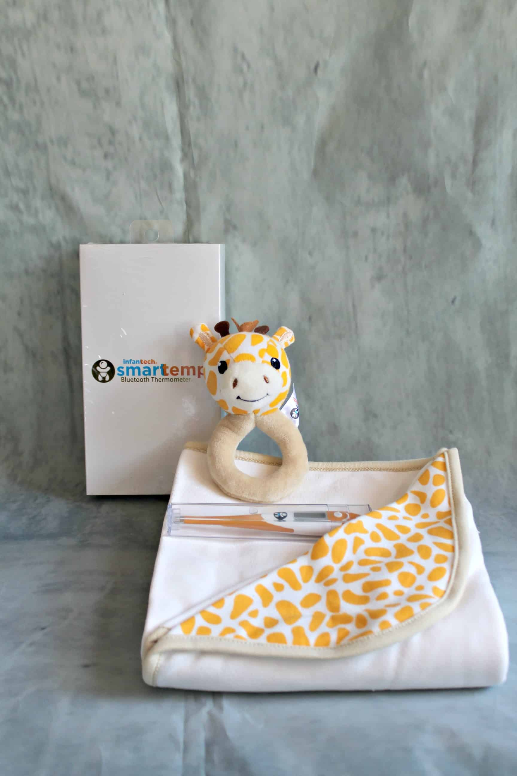 Smarttemp Bluetooth Giraffe Thermometer Gift Set