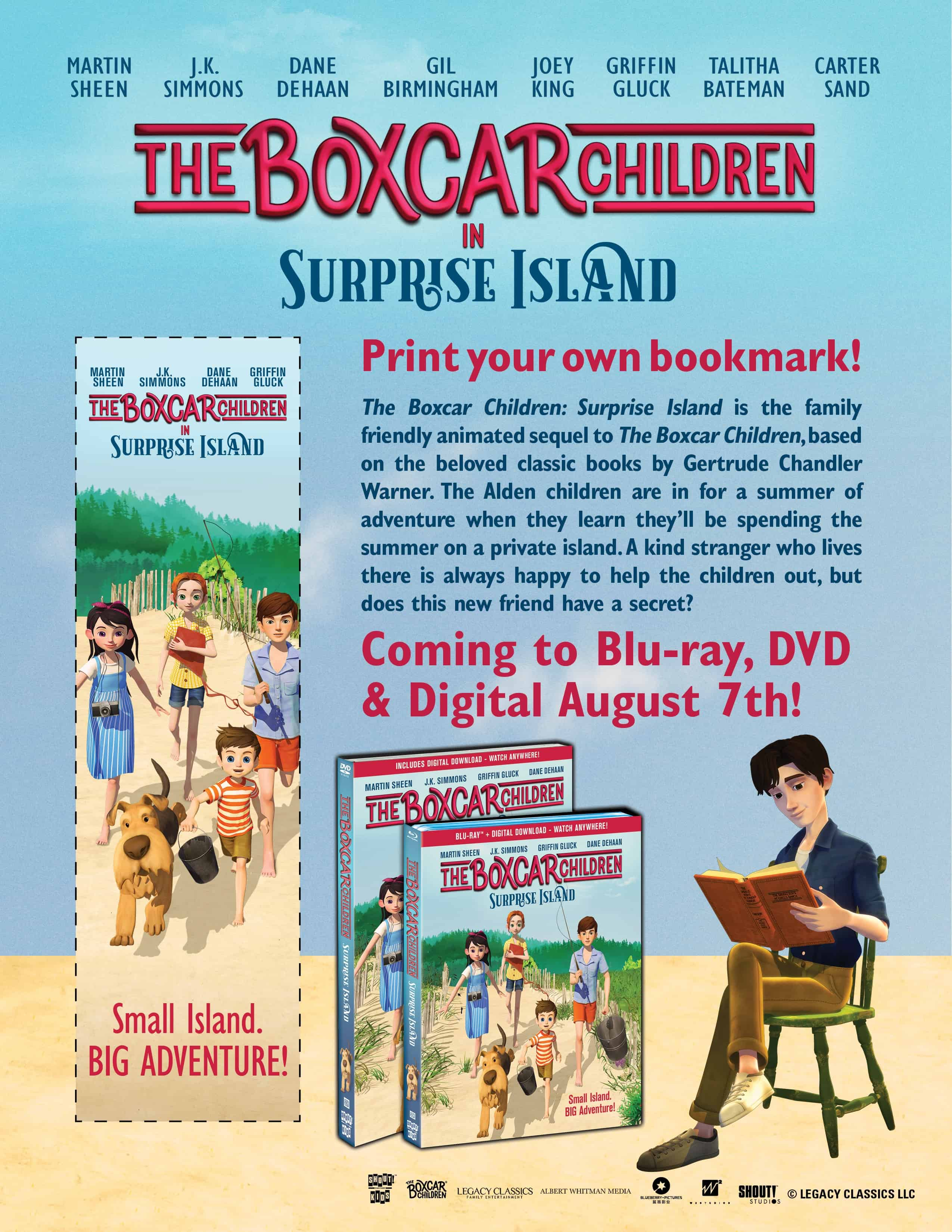 Boxcar Children Bookmark