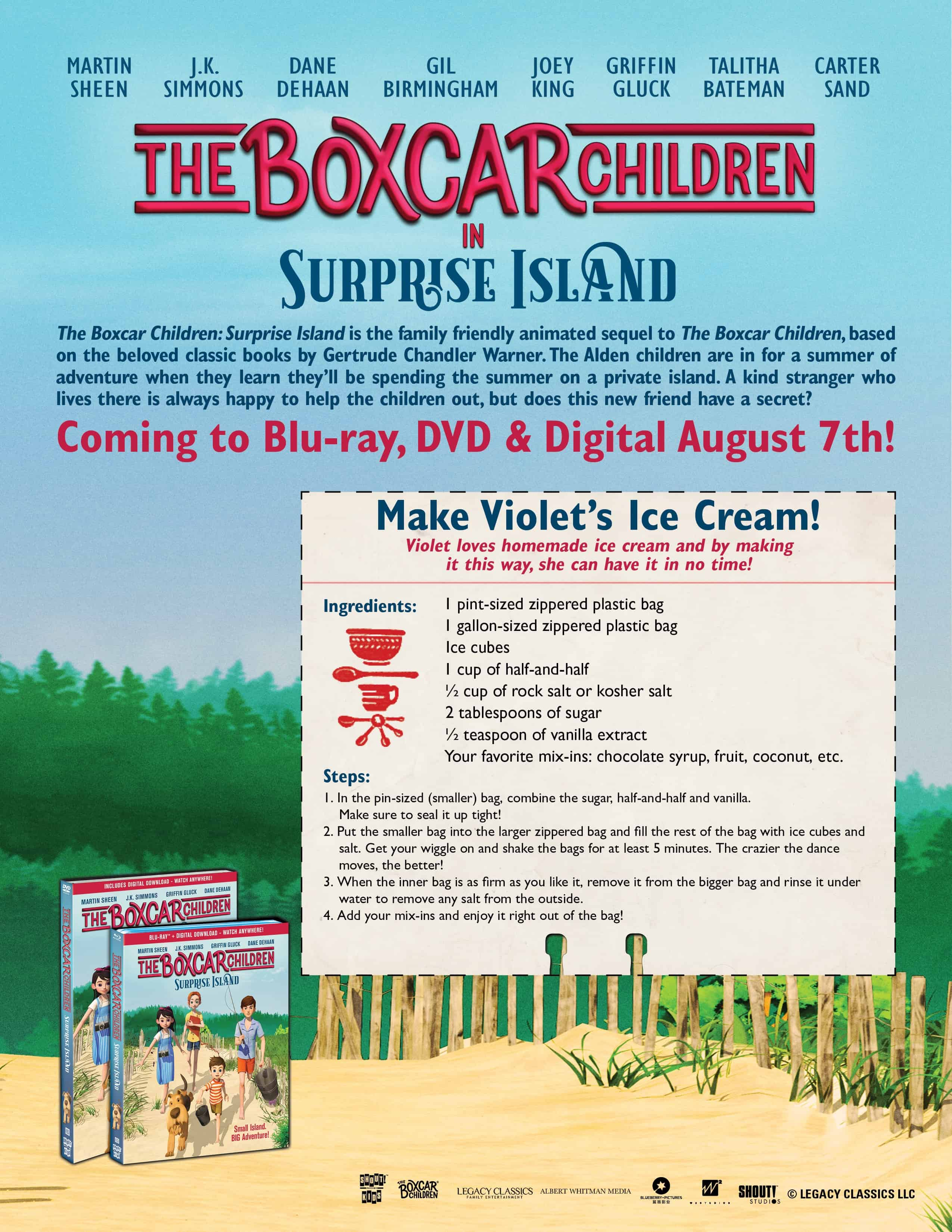 Boxcar Children Ice-cream recipe