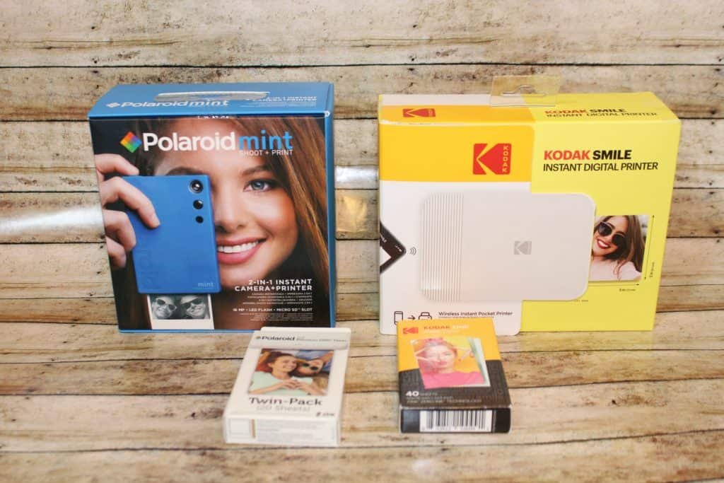 Capture memories with Kodak and Polaroid