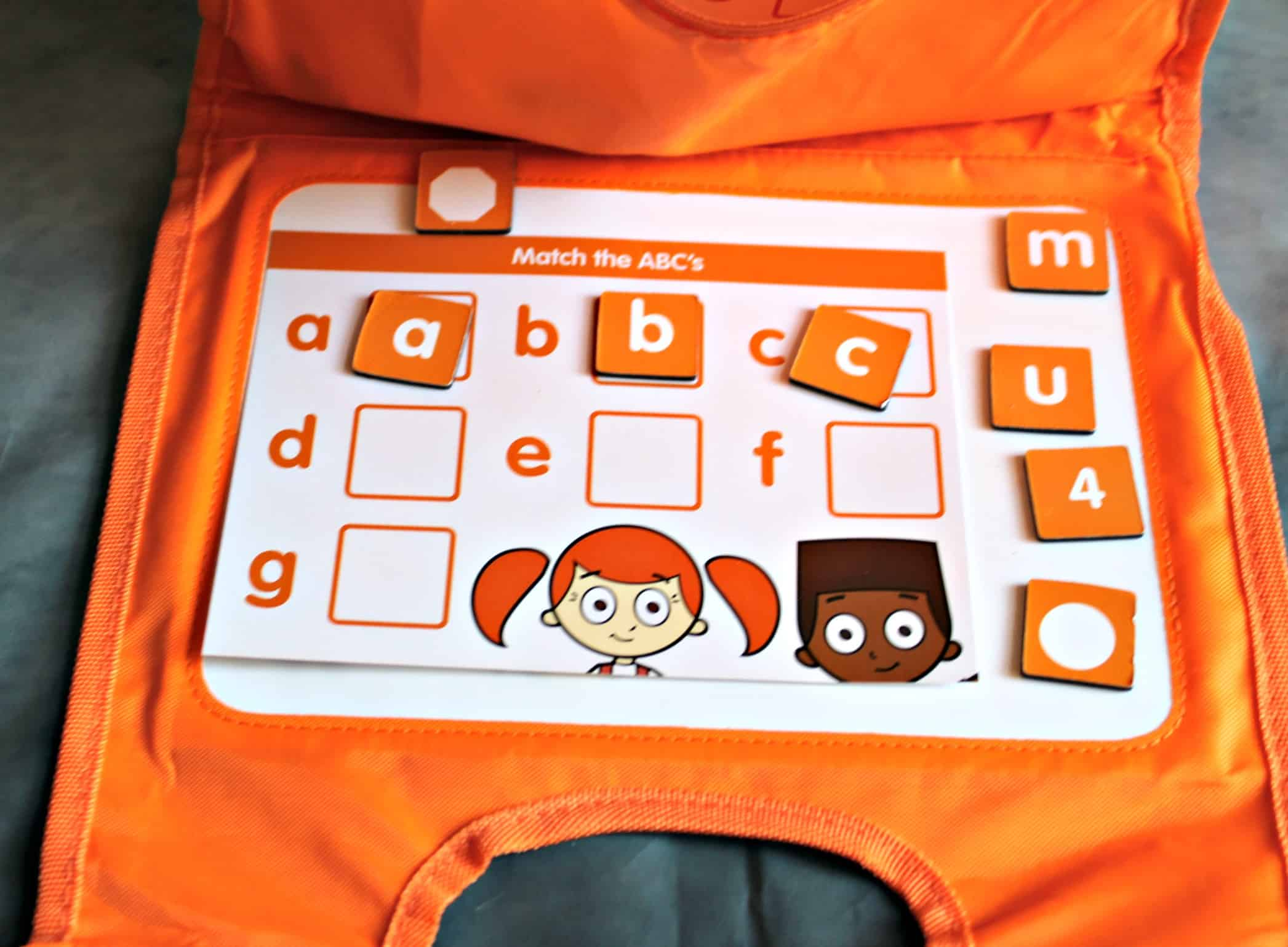 Match The ABC's with Teach My Toddler on the Go