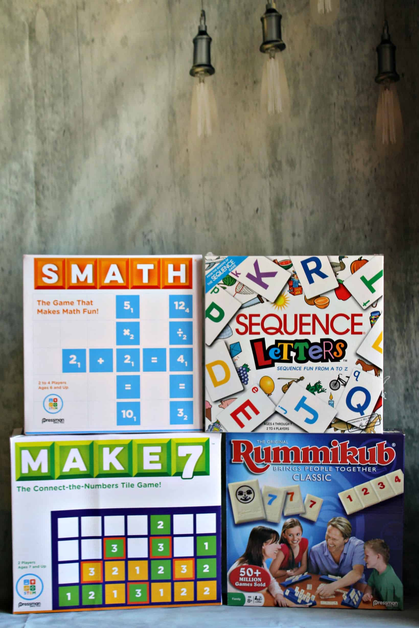 Smart Games from Pressman Games