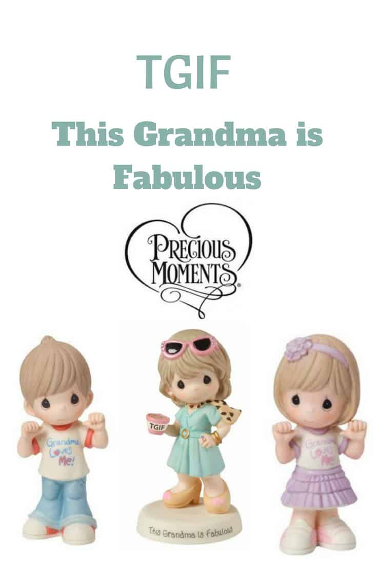 TGIF This Grandma is Fabulous a Precious Moments Figurine