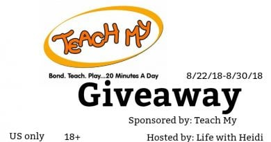 Teach My Giveaway US only