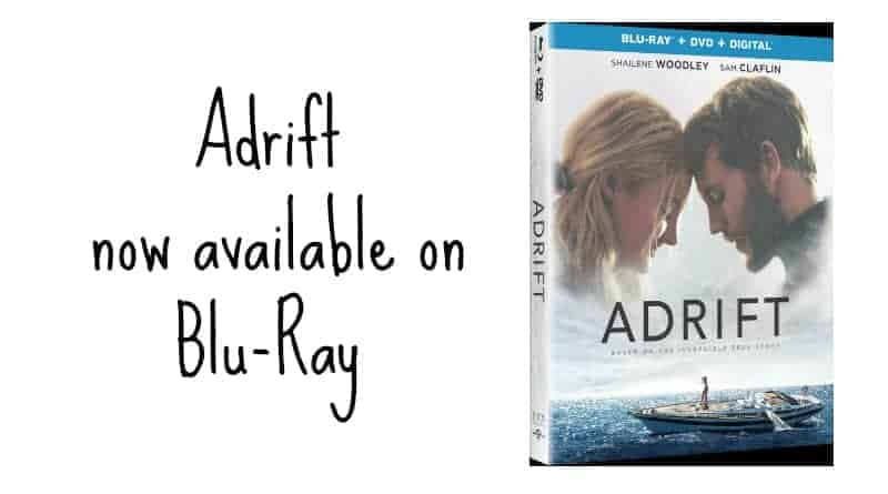 Adrift now available on Blu-Ray