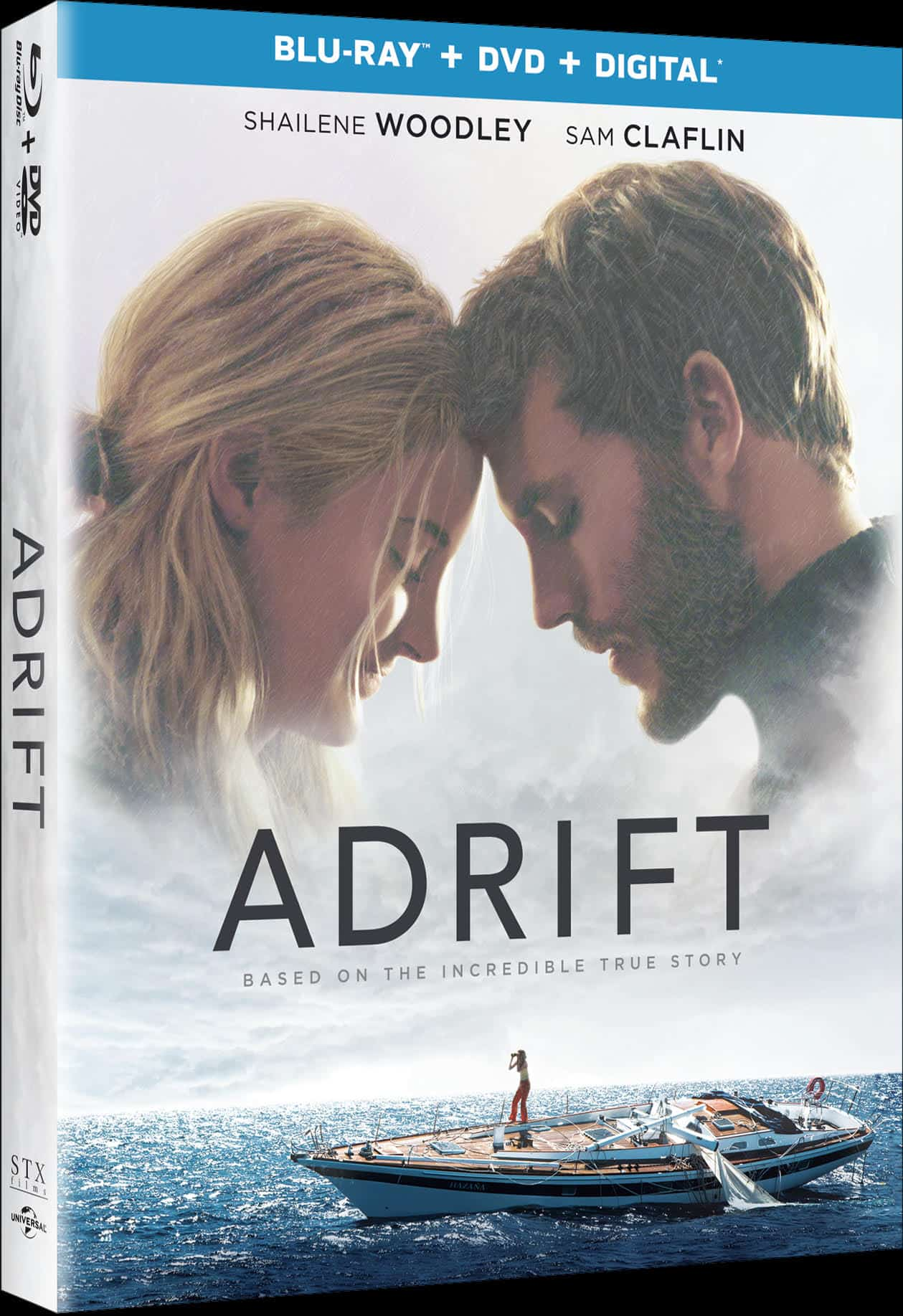 Adrift Now Available on DVD