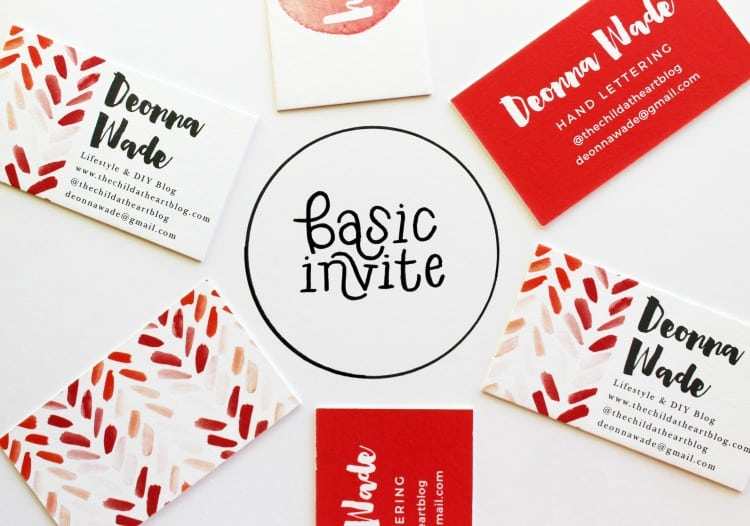 Basic Invite perfect for all of your business needs
