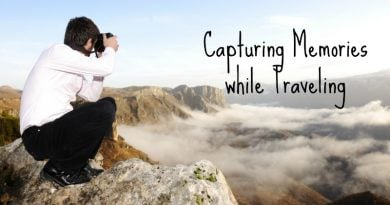 Capturing Memories while Traveling