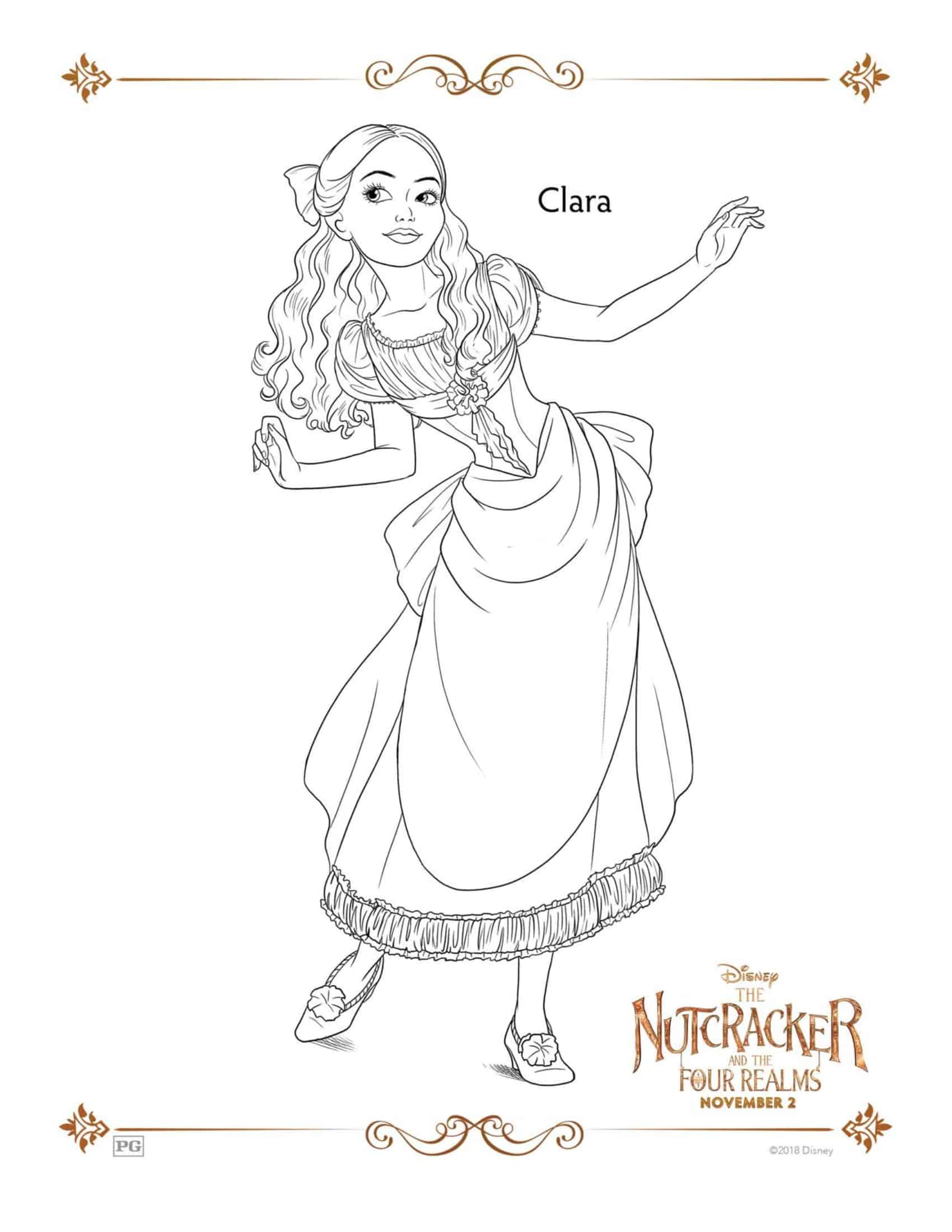 The Nutcracker & The Four Realms Coloring Pages