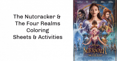 Coloring Pages for The Nutcracker and the Four Realms