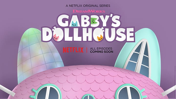 DreamWorks Gabby's Dollhouse - 2020